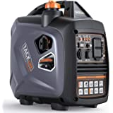TACKLIFE Portable Inverter Generator, 2250-Watt Quiet Generator with Four-Stroke Engine, Forced air-Cooled, Overhead…