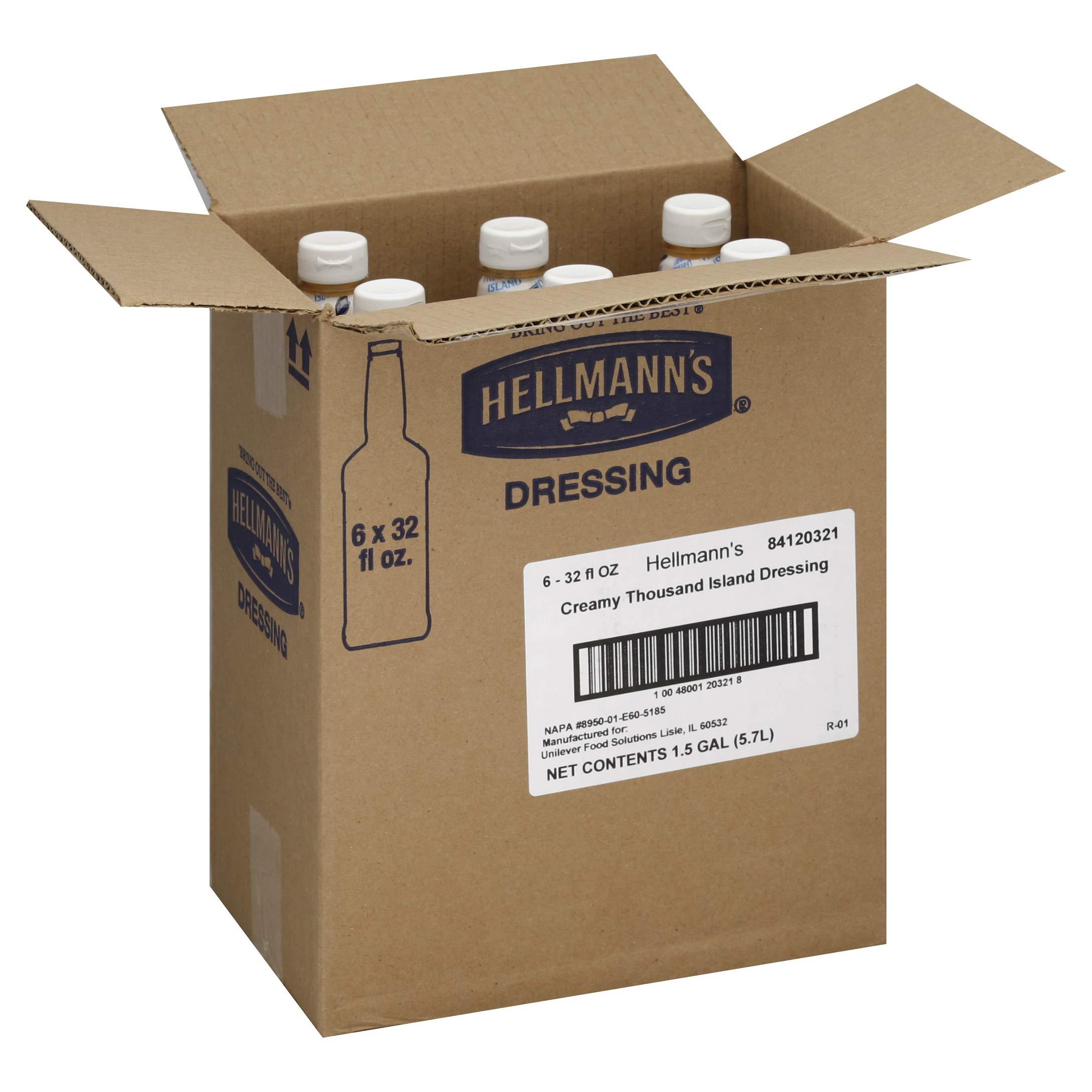 Hellmanns Thousand Island Dressing, 32 Ounce - 6 per case.