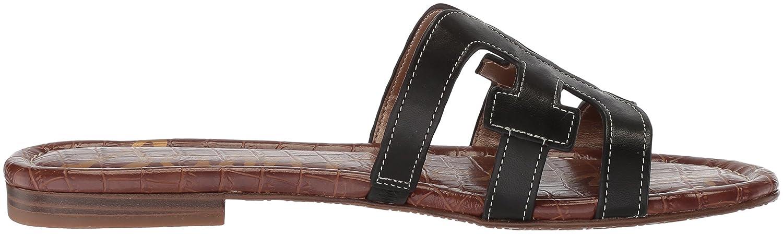 Sam Edelman Women's Bay Slide Sandal B0762TGG3B 8.5 B(M) US|Black Leather