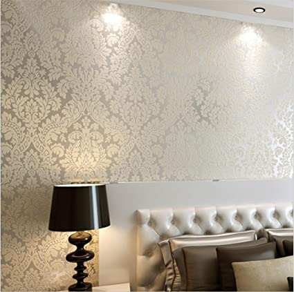 Wallpaper Non Woven Modern Simple Texture 3d Solid Color