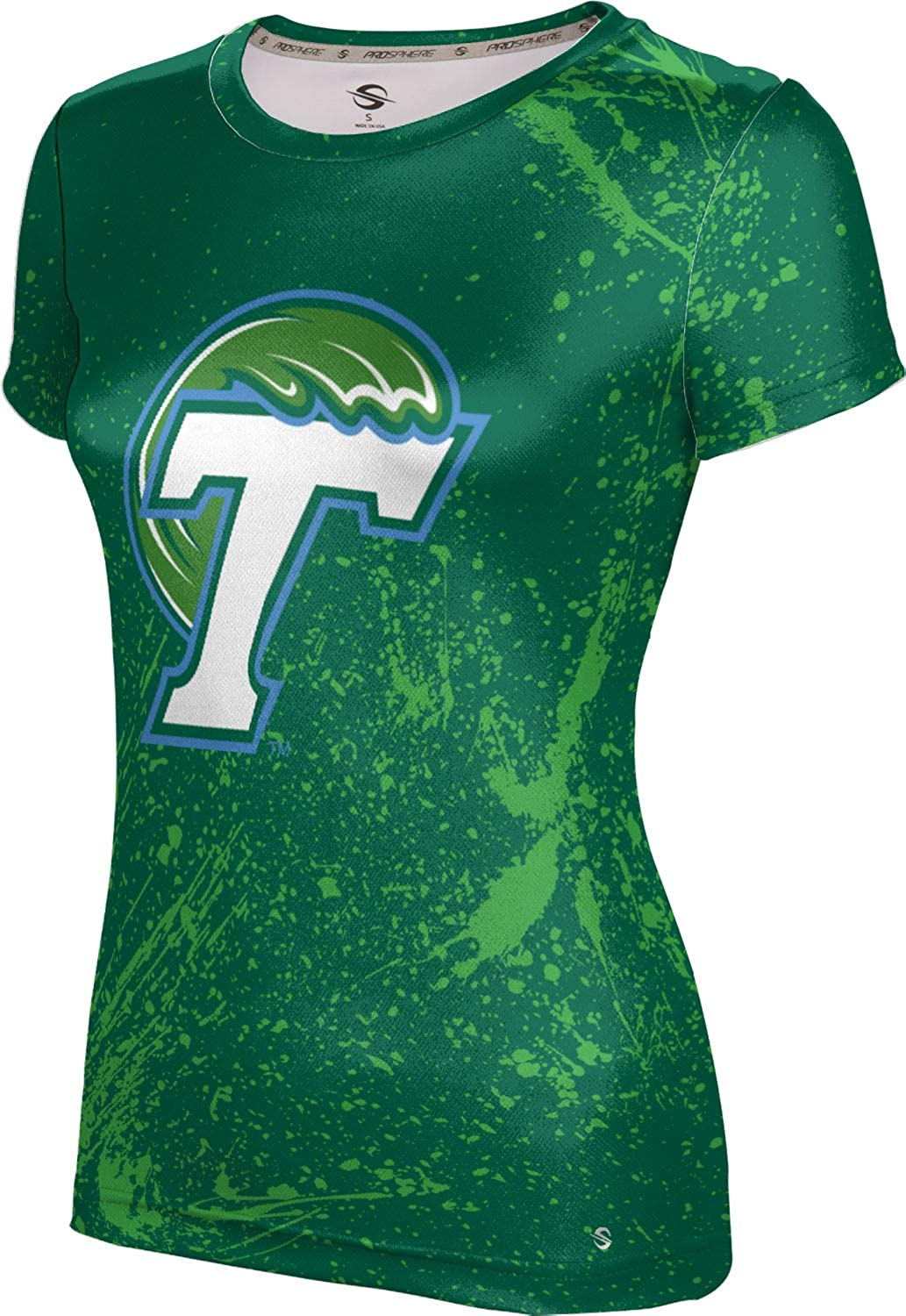 ProSphere Tulane University Girls Performance T-Shirt Splatter