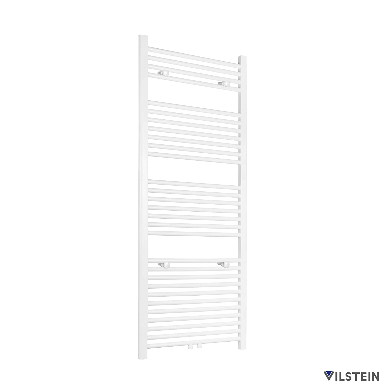 Anthrazit Horizontal VILSTEIN Handtuchheizk/örper Seitenanschluss und Mittelanschluss 1500x600 mm