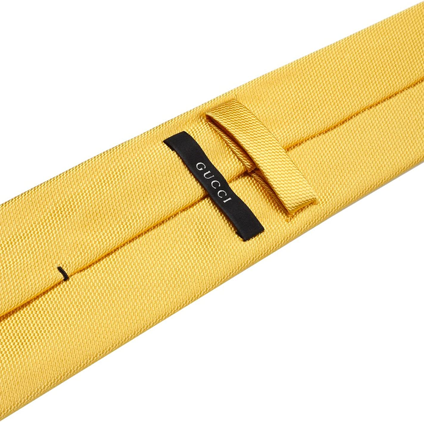 Gucci CL Yellow Patterned Tie: Amazon.es: Ropa y accesorios