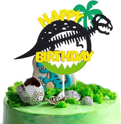 Amazon.com: BeYumi Decoración para tartas de cumpleaños ...