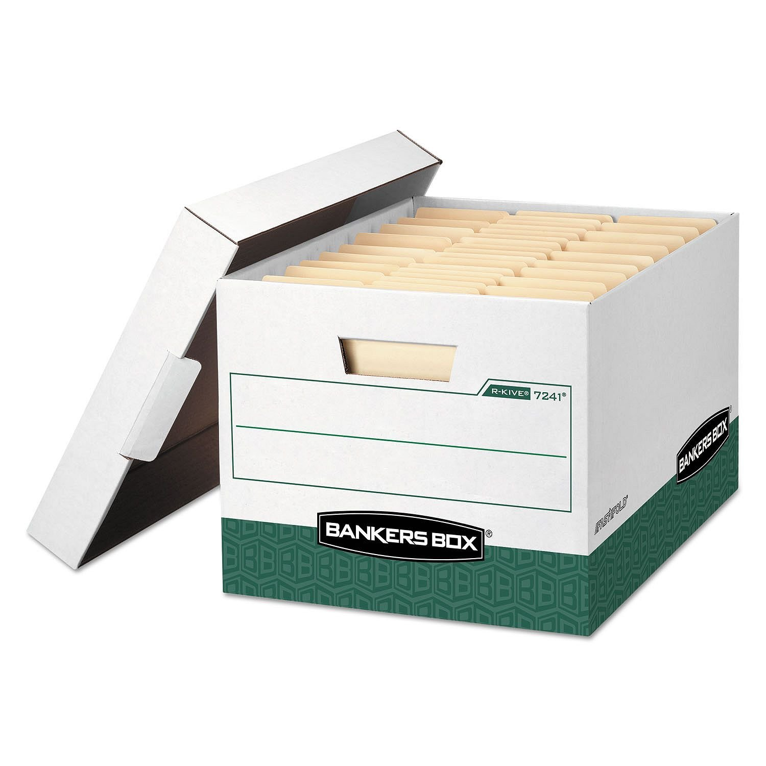 Bankers Box R-Kive Max Storage Box, Legal/Letter - (24 Pack, Green)