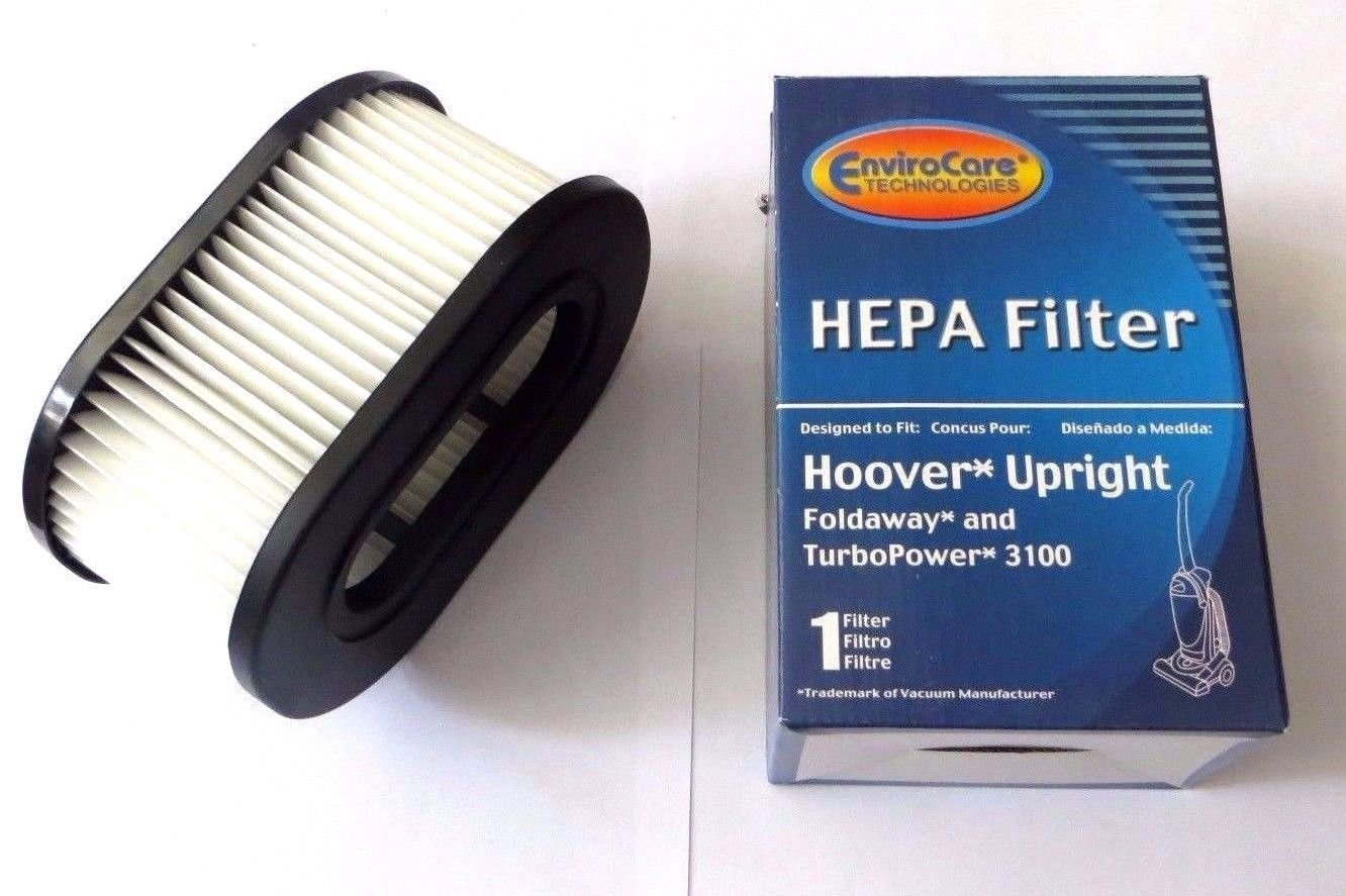 Hoover Foldaway and TurboPower HEPA Filter 3100 By Envirocare