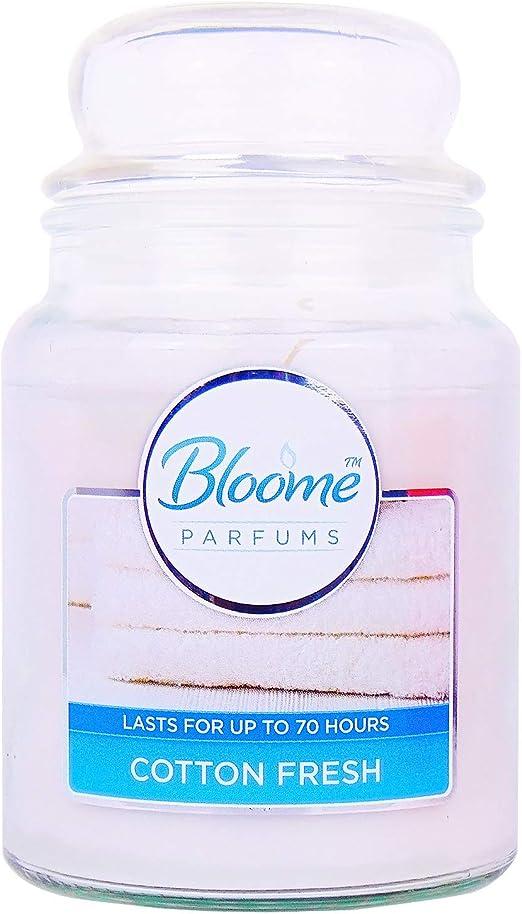 bloome Velas aromáticas de algodón perfumado (Tiempo de combustión ...