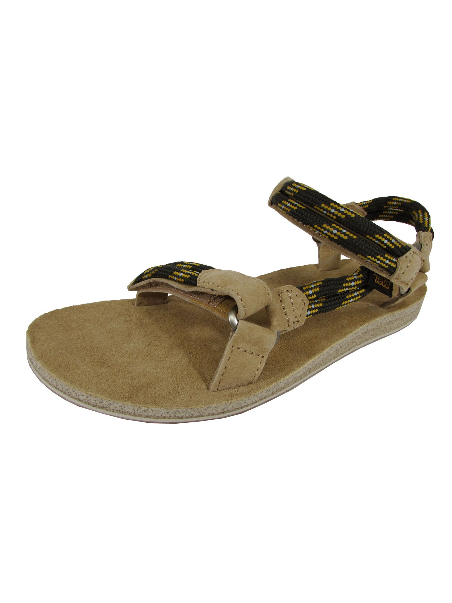 Teva Womens Original Universal Rope Sport Sandal Shoes, Black Olive, US 10
