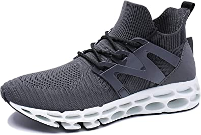 UMYOGO Mens Athletic Walking Blade Running Tennis Shoes Fashion Sneakers