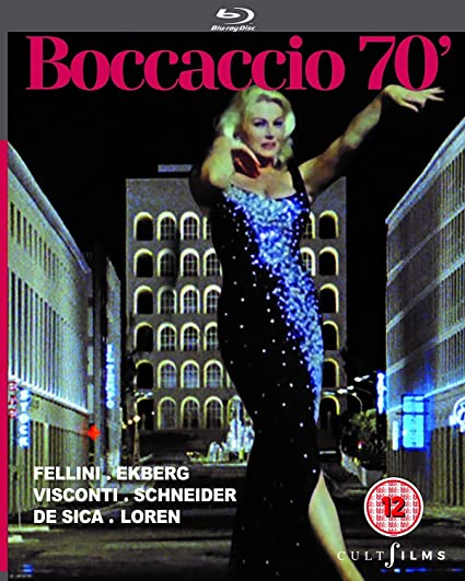 Boccaccio 70 Blu Ray Region Free Reino Unido Blu-ray: Amazon.es: Sophia Loren, Anita Ekberg, Romy Schneider, Federico Fellini, Vittorio De Sica, Mario Monicelli, Luchino Visconti, Sophia Loren, Anita Ekberg: Cine y Series