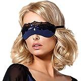 Obsessive Femmes Cache-Yeux 825-ACC-6, bleu marine,UNI
