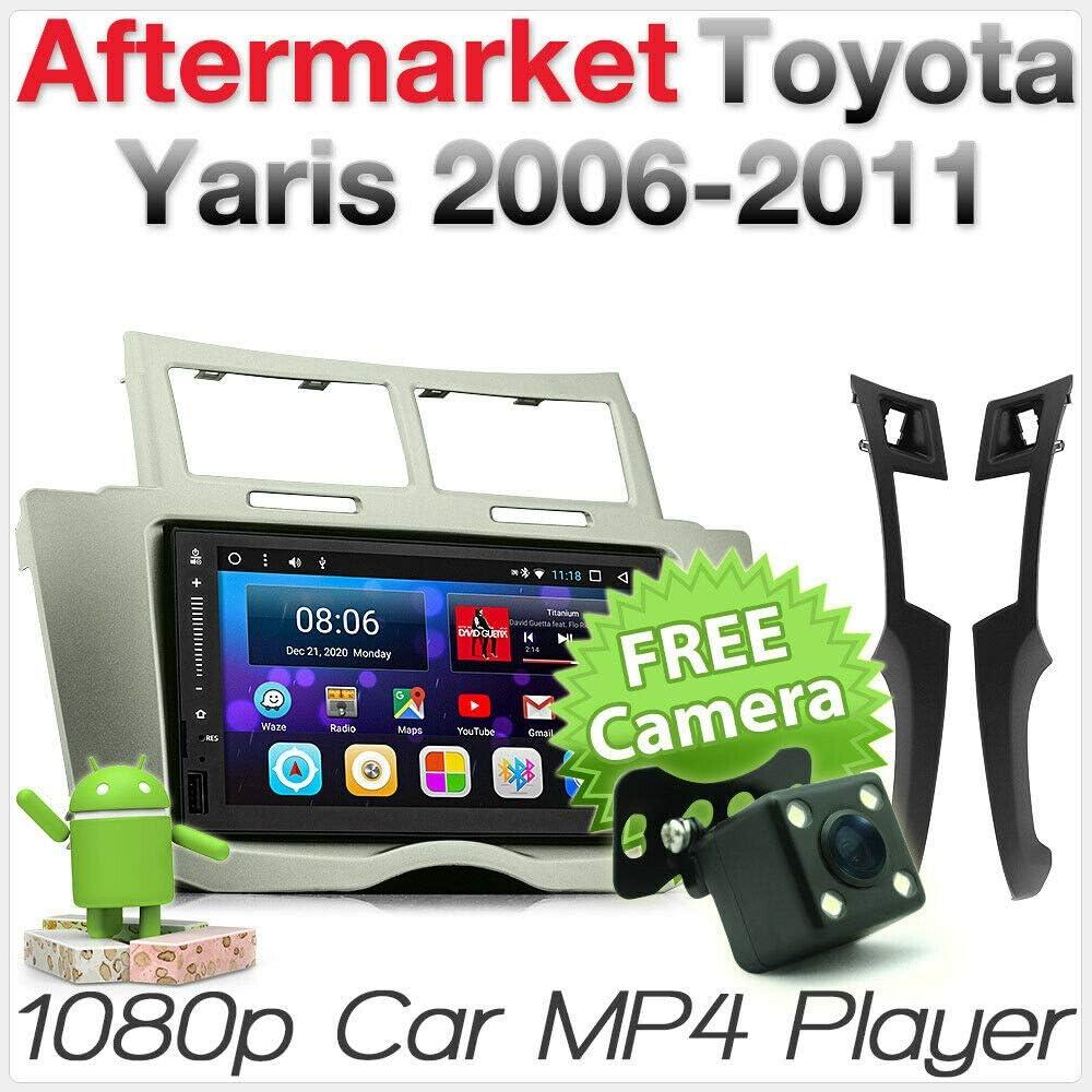 Android MP3 para Toyota Yaris XP90 2006 2007 GPS estéreo Radio ...