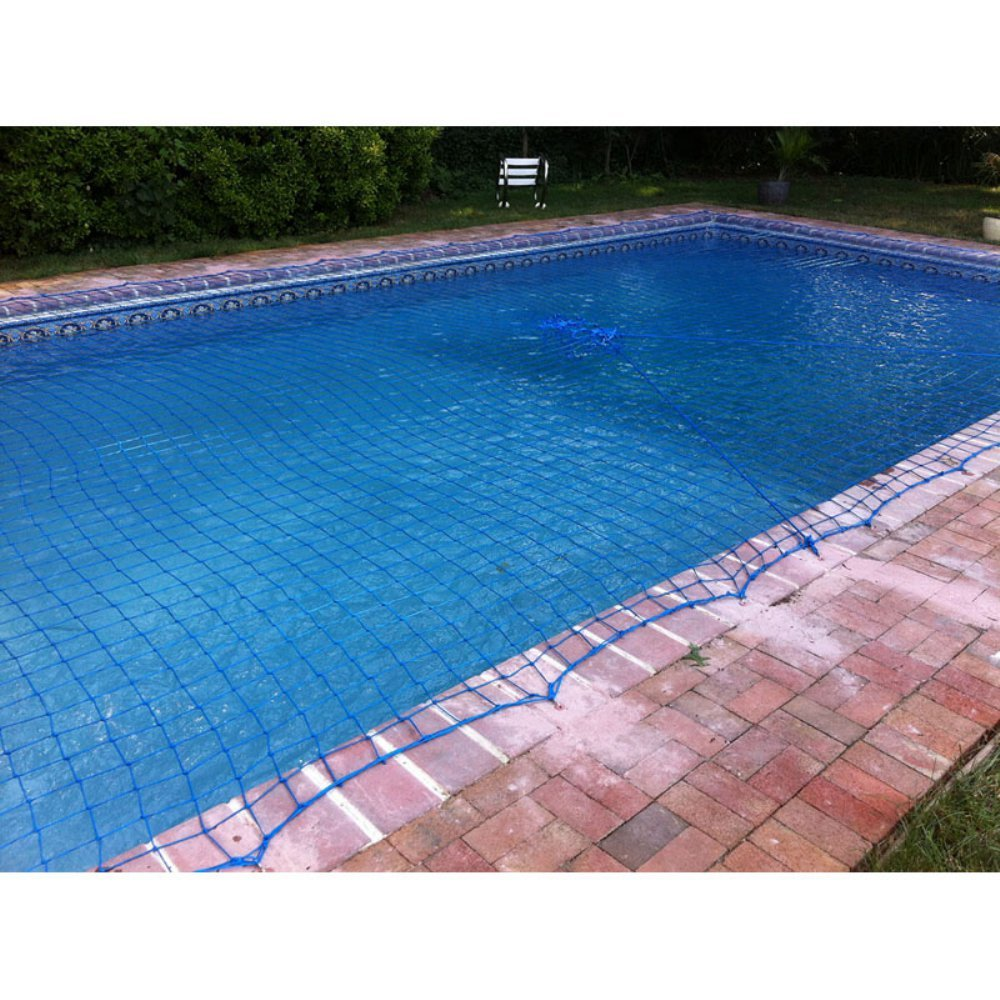 WaterWarden WWN1632 Pool Safety Net, 16\'x32\', Blue