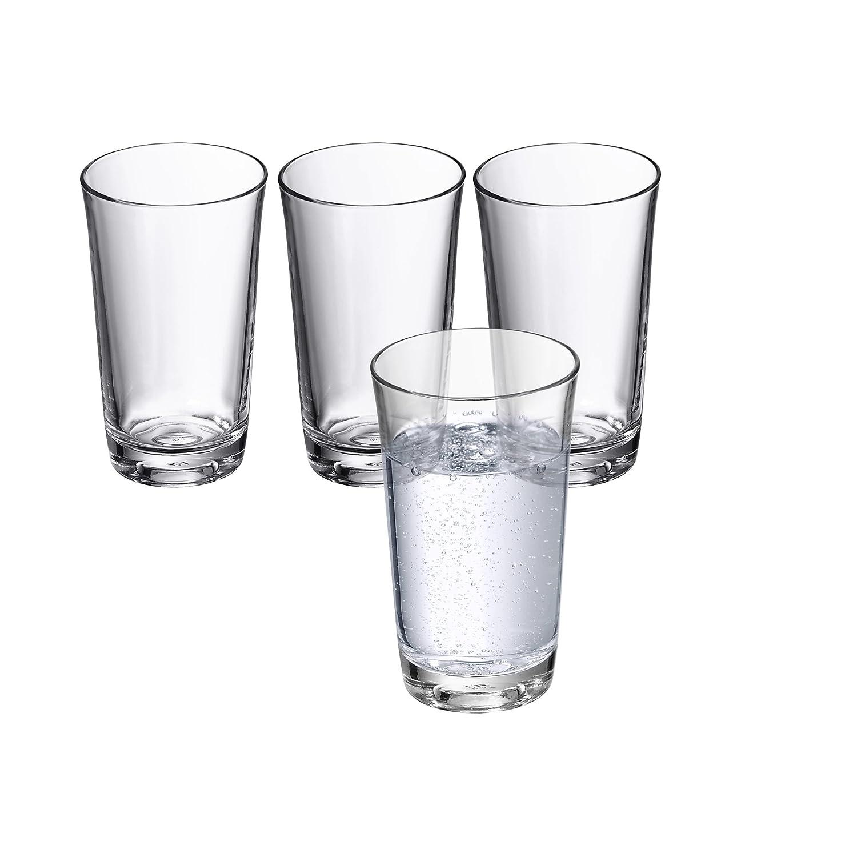0,25 L Basic WMF 0950509995 Wasserglas-Set 4-teilig