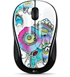 Wireless Mouse M317 with Unifying Receiver – Lady on the Lily (Lady on the Lily)