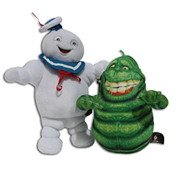 603ce8646ab Stay Puft Marshmallow Man 9     Slimer Ghost 7   Pack 2x Soft Toys ...