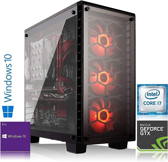 Memory PC Ordinateur Haut de Gamme Intel i9-9900K 8X 3.70 GHz| RTX 2080 8GB 4K | Refroidissement par Eau Corsair | 32 GB DDR4 RAM | 500 GB 970 Evo NVMe SSD + 2000 GB Disque Dur Windows 10