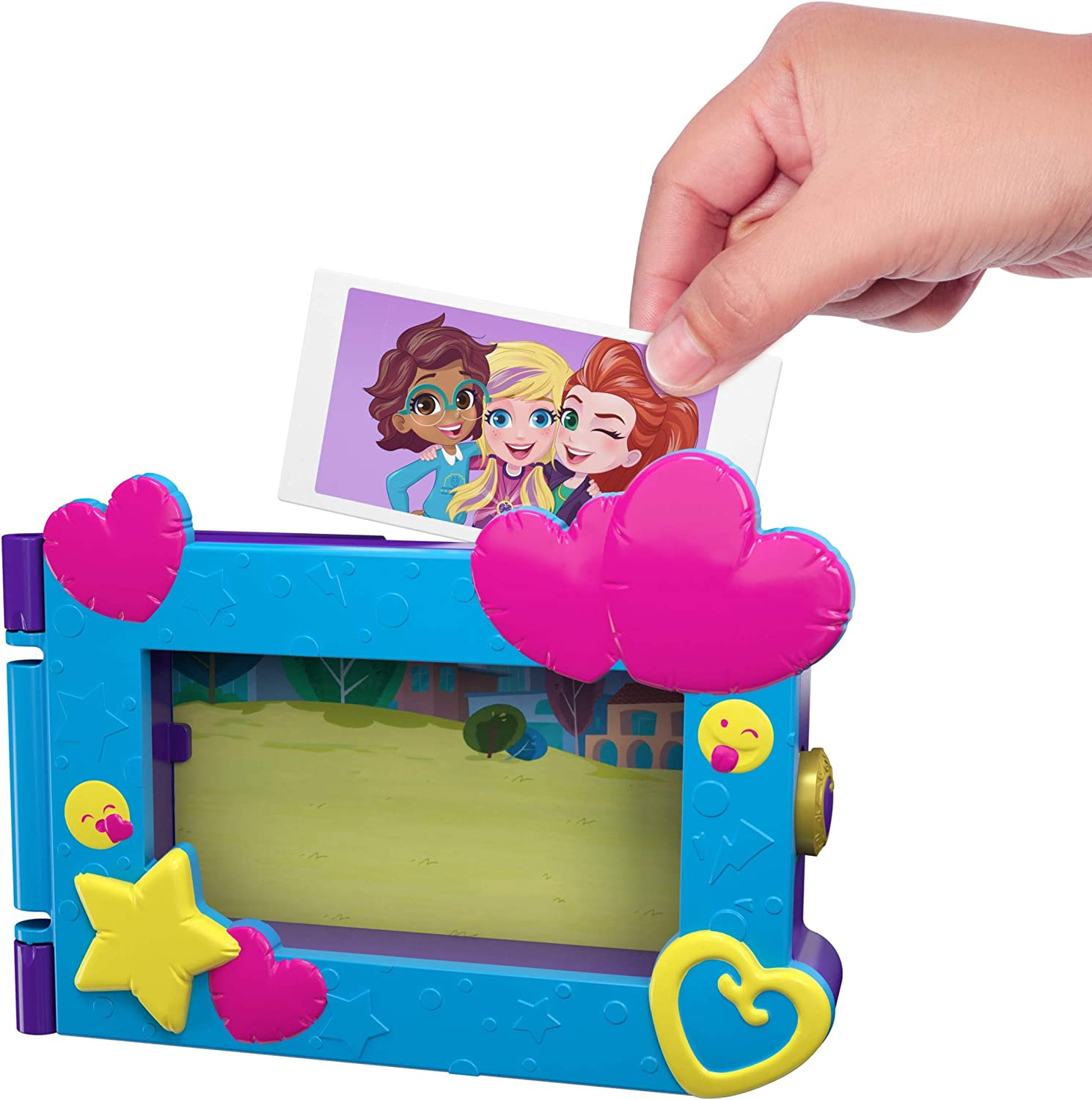 Frame by Mattel Playset NEW Polly Pocket Say Freeze
