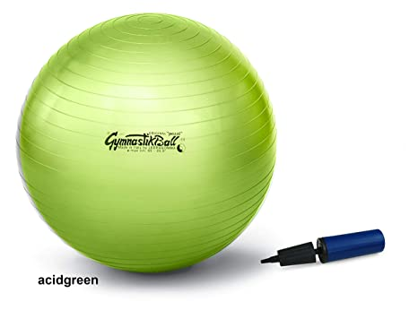 Pezzi - Pelota de 75 | verde manzana | pelota + Bomba: Amazon.es ...