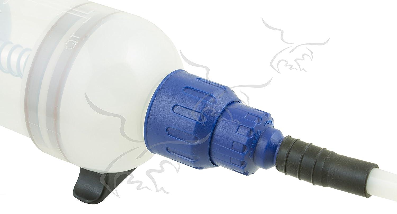 Tuecompra S.L Jeringa para extracci/ón de Aceite y flu/ídos Especial AUS32 AdBLUE/® DE 1,5 L