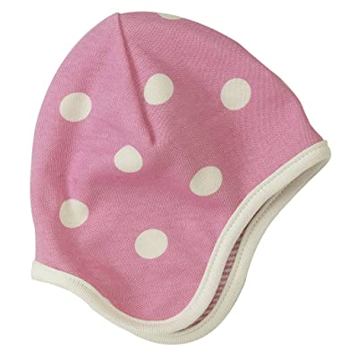 Pigeon-organics For Kids Bonnet Spotty Rose 0-5 m