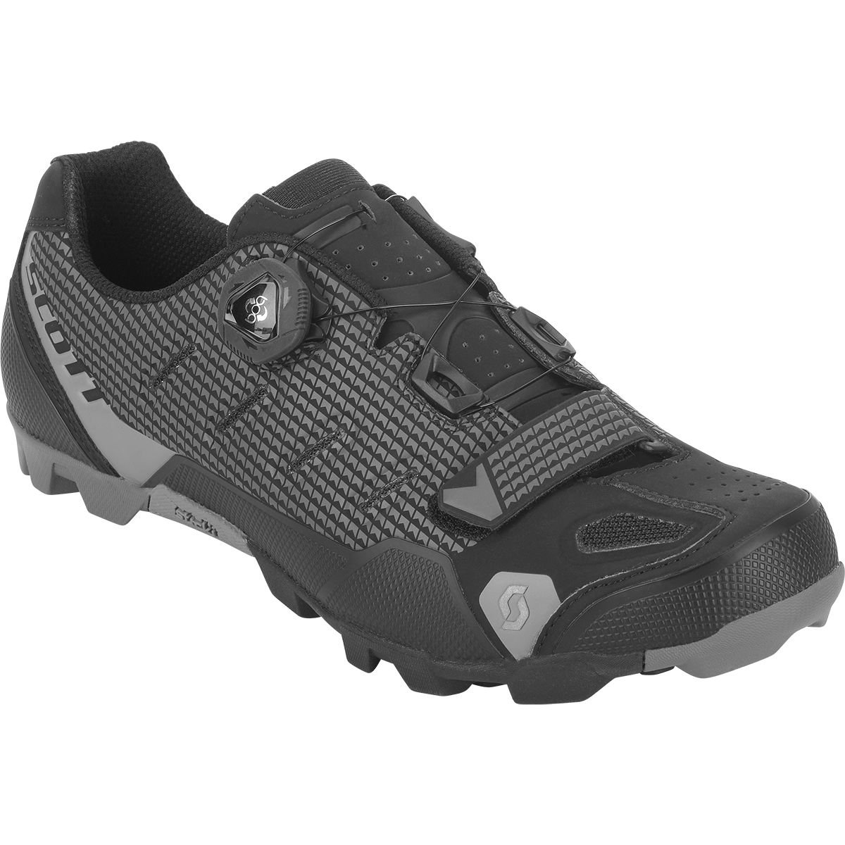 スコットMTB prowl-r RS Shoe – Men 'sマットブラック/マット無煙炭、43.0   B078177NMX