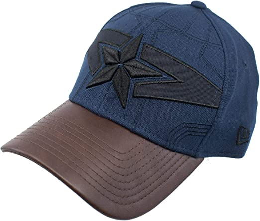 Avengers Infinity War Logo 39Thirty Fitted Hat Black