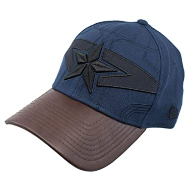 5fee69373cd6e2 Captain America Nomad Armor 39Thirty Fitted Hat at Amazon Men's ...