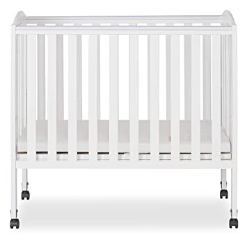 477a0f9321b31 Amazon.com   Dream On Me 2 in 1 Portable Folding Stationary Side Crib