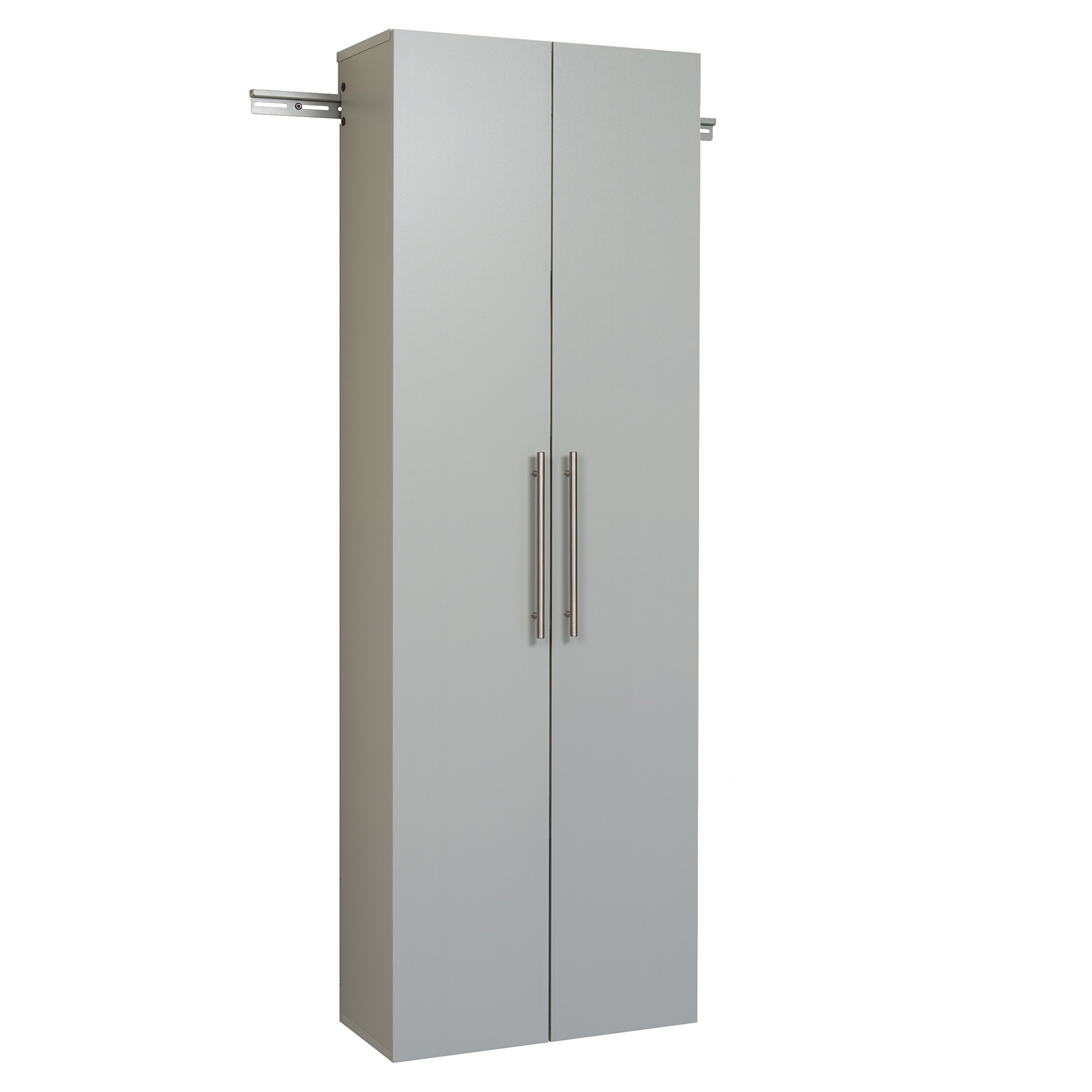 Prepac GSCW-0706-2K Hang-Ups Storage Cabinet, 24''/Large, Light Gray
