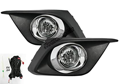 Remarkable Power FL7071 2014 2016 Mazda 3 Fog Lights Clear Lens Bumper Lamps  Kit