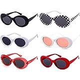 cbf4896084 SORVINO Sunglasses Unisex Kurt Cobain Glasses Bold Retro Oval Mod Clout  Goggles