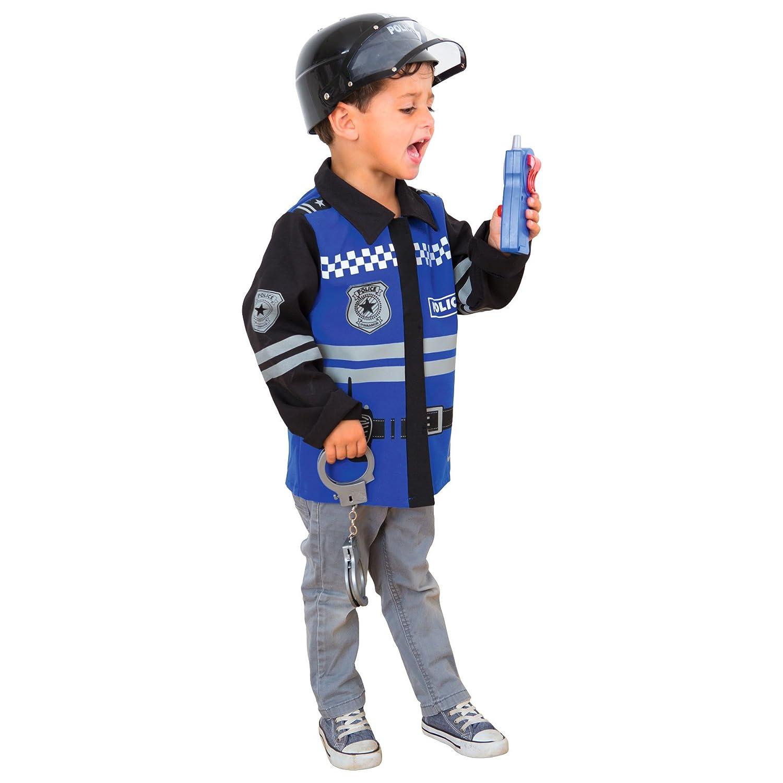 Imaginarium- Disfraz de policía para niños, Policeman Suit, Talla ...