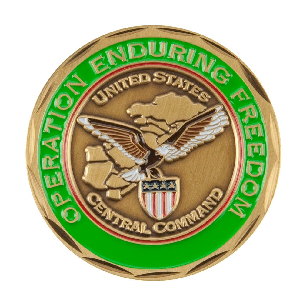 Military Operation Coin Green Never W01S25C