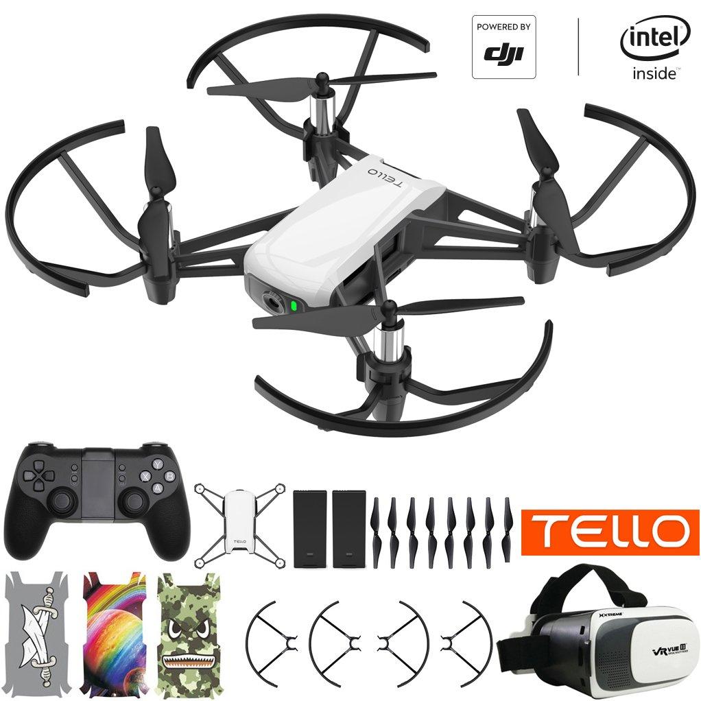 DJI Drone cuadricóptero Tello con cámara HD y VR impulsado ...