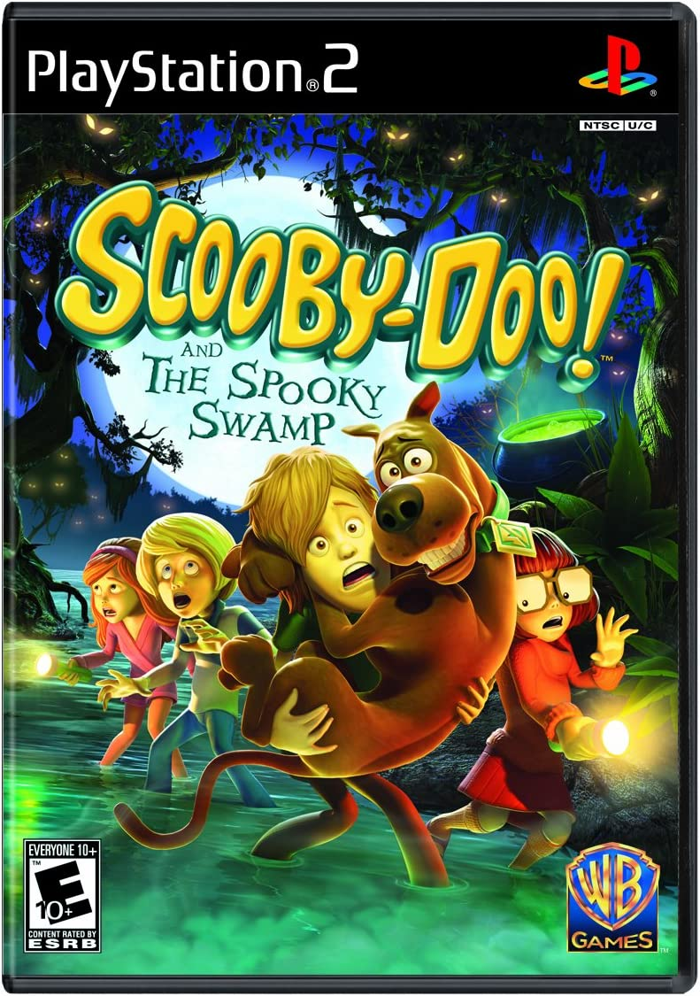 Amazon Com Scooby Doo And The Spooky Swamp Playstation 2 Whv