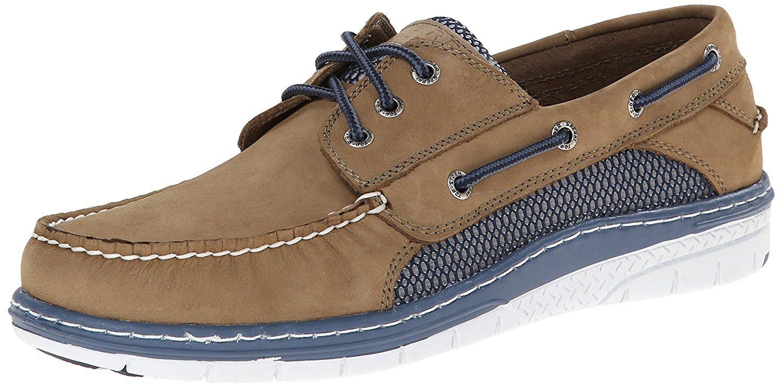 Sperry Top-Sider Men's Billfish Ultralite Boat Shoe (Tan/Blue 8.0 M)