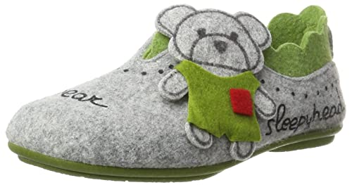 Amazon.com | Manitu Home Damen-Hausschuh Grau 340207-9 | Loafers & Slip-Ons