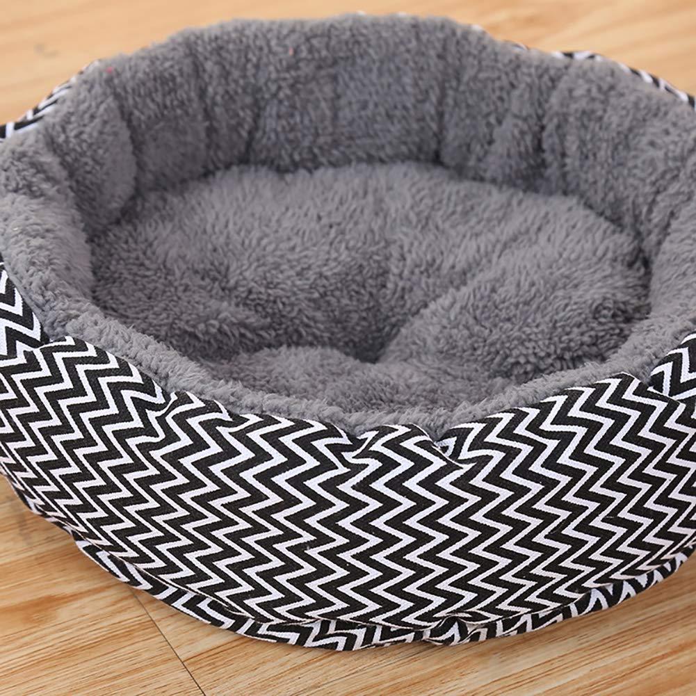 Outtybrave - Caseta de Perro, Suave, Lavable, Lona Impresa, cálida, para Cachorros y Mascotas: Amazon.es: Productos para mascotas