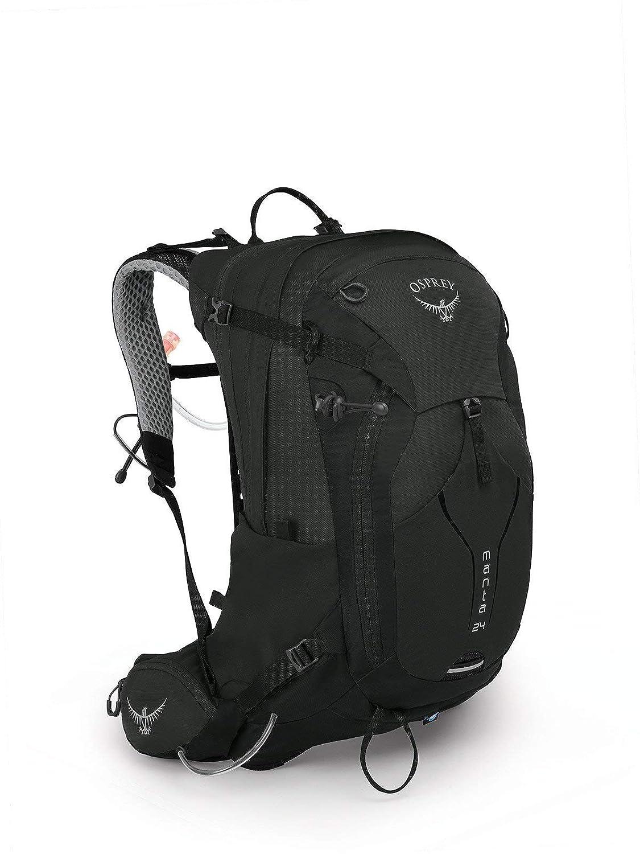 (オスプレー) OSPREY MEN`S HIKING マンタ24 バックパック (並行輸入品) B07NX34CRY ブラック One Size