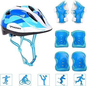 Amazon.com: Juego de rodilleras ajustables para casco de ...