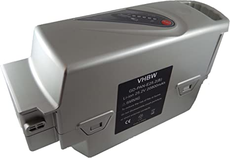 vhbw Batería Li-Ion 20800mAh (25.2V) para ebike Bicicleta eléctrica ...