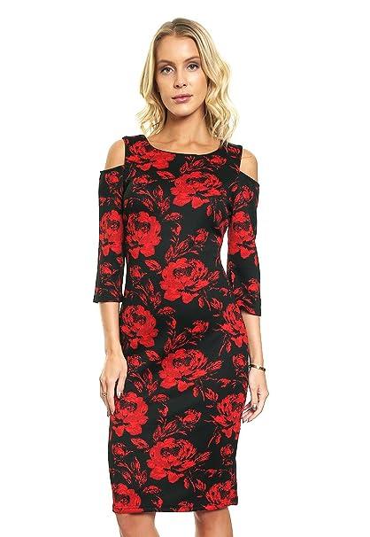 Accesorios para un vestido rojo con negro