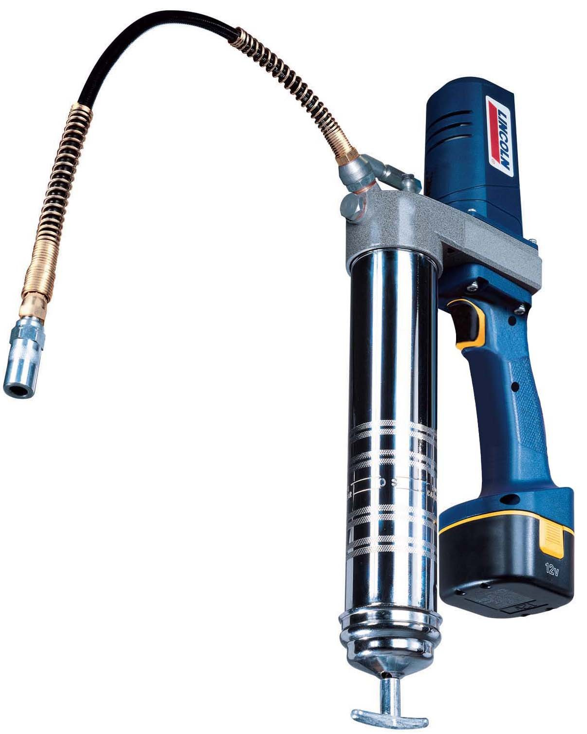 Lincoln Lubrication 1242 12 Volt DC Cordless Rechargeable Grease Gun with Case and Charger by Lincoln Electric