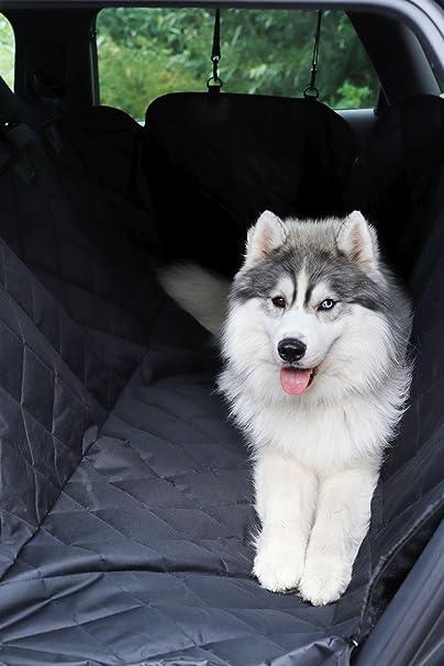 Dibea Autodecke Für Hunde Steppdesign Autoschondecke Mit Seitenschutz Schutzdecke Rücksitz Hundedecke Wasserabweisend Größe 153x140 Cm Haustier