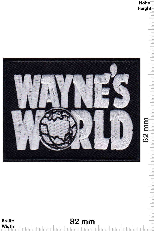 Movie Give Patch Waynes World Iron on Applique Embroidery /Écusson brod/é Costume Cadeau Waynes World