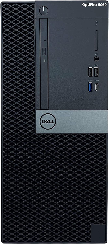 Dell Optiplex 5060 Tower Desktop - 8th Gen Intel Core i7-8700 3.20GHz (Up to 4.60GHz), 16GB DDR4 2666MHz Memory, 512GB SSD, Intel UHD Graphics 630, Windows 10 Pro