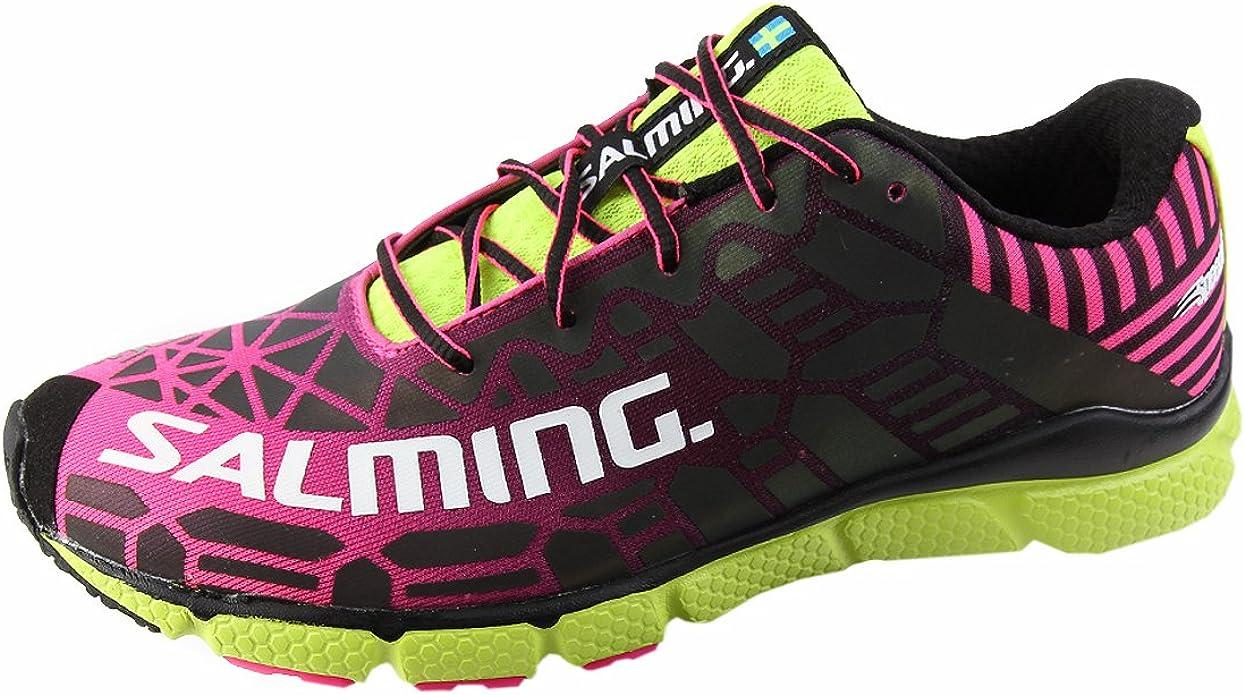 Salming Speed 6 Shoe Women Black Magenta