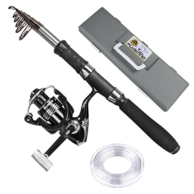 Review PLUSINNO Telescopic Fishing Rod