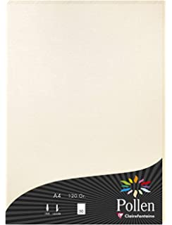 Bastel- Karton ideal f/ür Visitenkarten Men/ükarten Zertifikate Elfenbeinkarton Chamois Netuno 40 x Creme 246g Papier glatt DIN A5 148x210 mm Einladungs-Karten Diplome